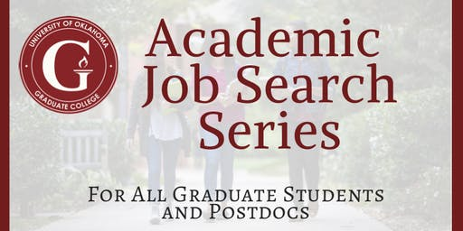 Academic Job Serach Workshop Series