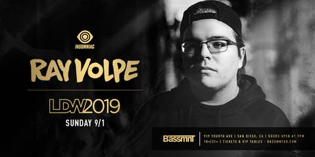 Ray Volpe at Bassmnt Sunday 9/1 tickets