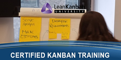 Kanban Management Professional (KMP) 4-Day Certification NYC tickets