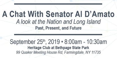 A Chat With Senator Al D'Amato: A look at the Nation and Long Island