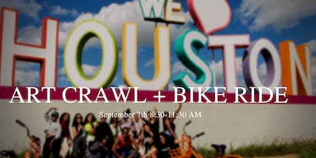 Morning Art Crawl + Bike Ride with Midtown Houston & Houston Bcycle tickets