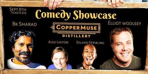 Comedy Showcase at CopperMuse Distillery