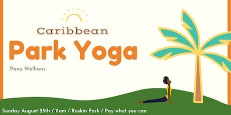 Caribbean Park Yoga tickets