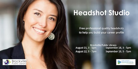 Free Headshot Studio tickets
