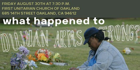 Premiere Film Showing: What Happened to Dujuan Armstrong?  tickets
