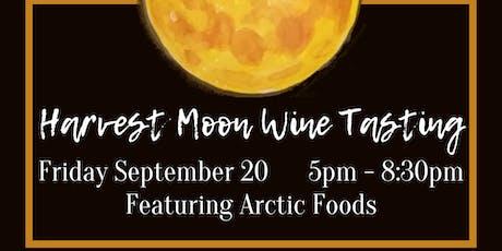Harvest Moon Wine Tasting: Italian Comforts tickets