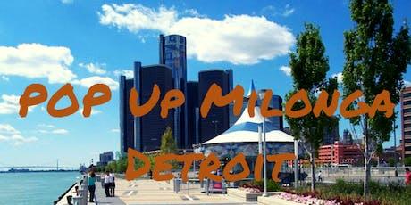 Pop Up Milonga on Detroit's Riverfront tickets