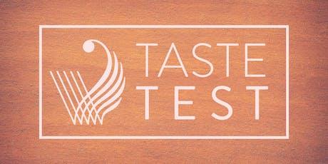 Taste Test tickets