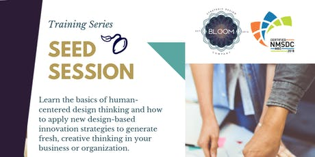 Seed Session Design Thinking Training tickets