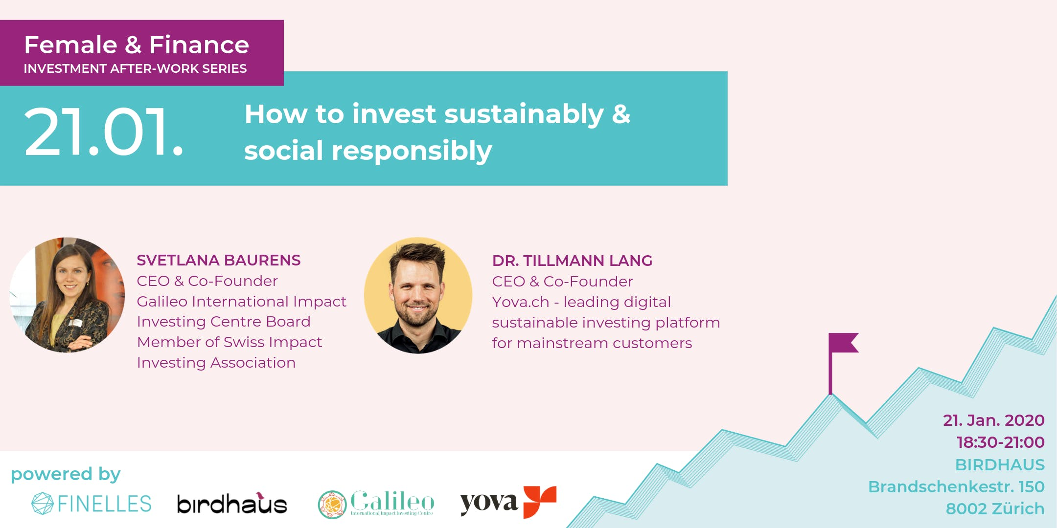 Female & Finance #4 - How to invest sustainably & social responsibly