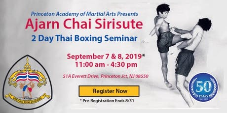 2019 Thai Boxing Seminar with Ajarn Chai Sirisute tickets