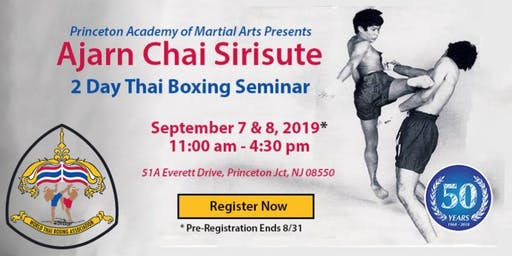 2019 Thai Boxing Seminar with Ajarn Chai Sirisute