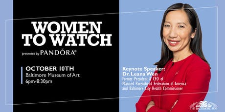 Women to Watch tickets