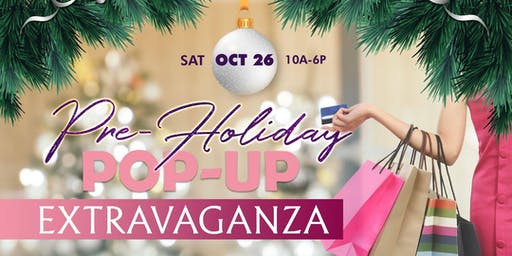 Pre-Holiday Pop-Up Shop Extravaganza