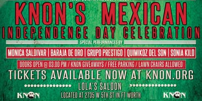 KNON's Mexican Independence Day Celebration