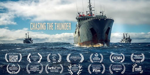 """""""Chasing the Thunder"""" + Q&A with filmmaker Mark Benjamin, Founder Paul Watson"""