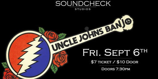 Uncle John's Banjo at Soundcheck Studios