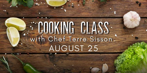 August Cooking Class at Thatch Winery