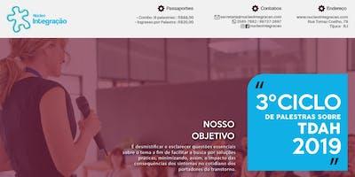 3º CICLO  DE PALESTRAS SOBRE TDAH 2019