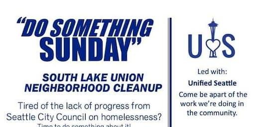 Do Something Sunday - Neighborhood Cleanup