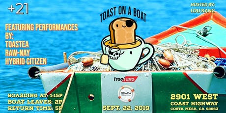 EMX Yacht Party: Toast on a Boat (Newport Beach) tickets