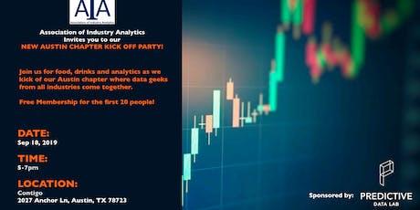 Association of Industry Analytics: Austin Chapter Kickoff tickets