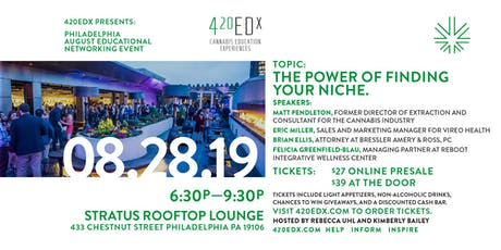 420EDx Philly: The Power of Finding Your Niche tickets