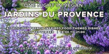 One Vegan Night in Jardins du Provence tickets