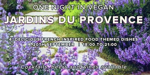 One Vegan Night in Jardins du Provence