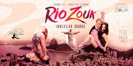 Rio Zouk 30 Day Immersion Course 2020 ingressos