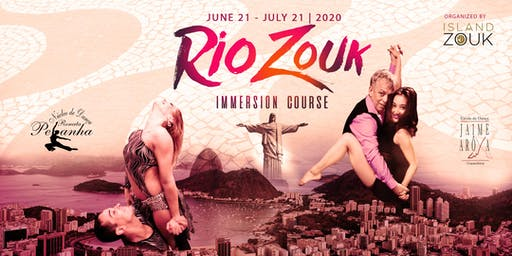 Rio Zouk 30 Day Immersion Course 2020