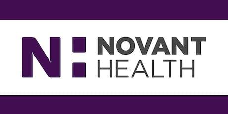 Explore a Career with Novant Health Huntersville! tickets