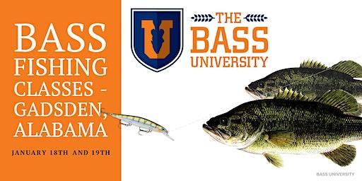 The Bass University Fishing Classes - Gadsden, Alabama