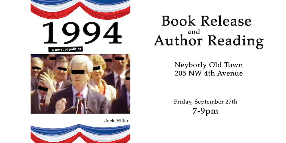 1994 Book Release and Author Reading Tickets, Fri, Sep 27