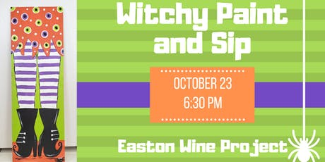 Witchy Paint and Sip tickets