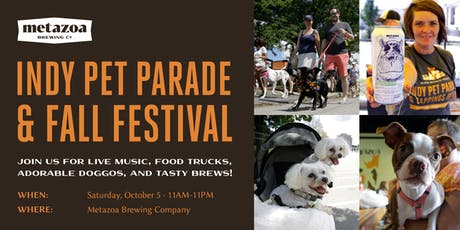 Indy Pet Parade & Fall Festival tickets