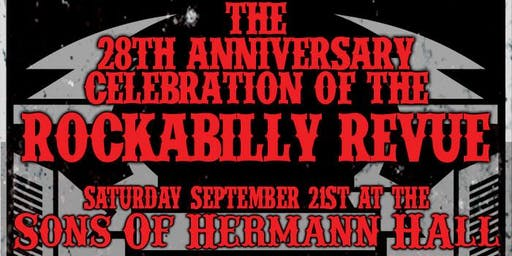 KNON's Rockabilly Revue 28th Anniversary Party