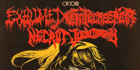Gatecreeper with EXHUMED tickets