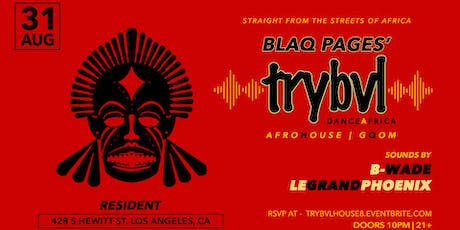 TRYBVL - Dance Africa tickets