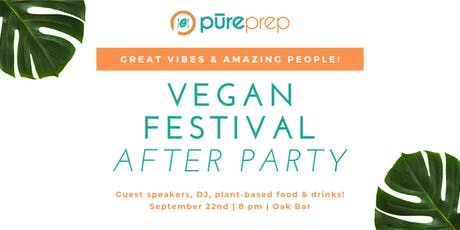 Vegan Festival After Party tickets