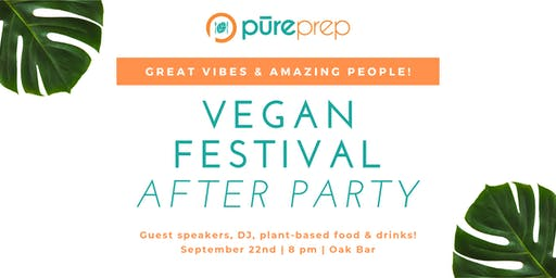 Vegan Festival After Party