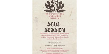 Mo Healing Wellness Presents: Soul Session tickets