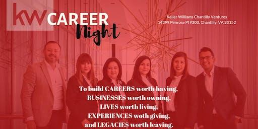 Career Night at Keller Williams Chantilly