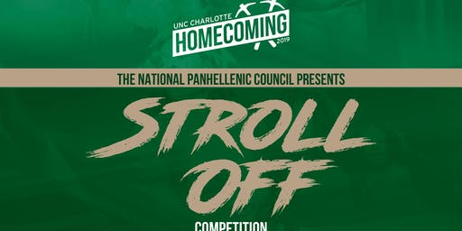 2019 UNCC NPHC Homecoming Stroll Competition!!!!