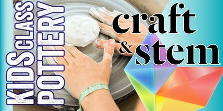 Kids Pottery Class - Saturday Afternoon - 1:00 pm to 3:00 pm tickets