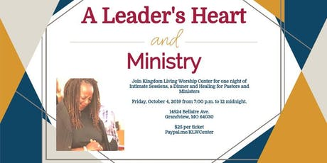 A Leader's Heart and Ministry tickets