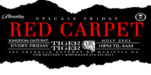 Upscale Friday's at Tiger Tiger lounge