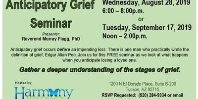 Anticipatory Grief  Seminar