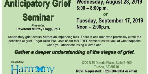 Anticipatory Grief  Seminar