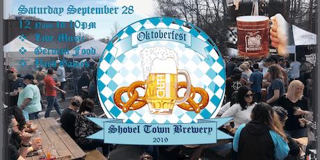 Shovel Town Brewery Oktoberfest 2019 tickets